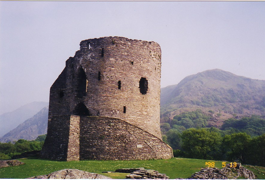 dolbadarn castle wales family history