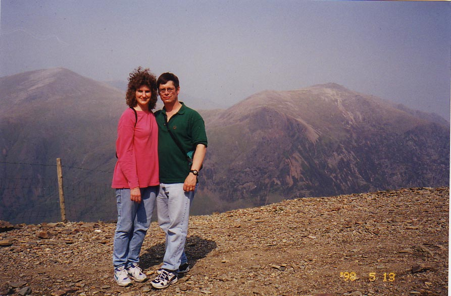 richard griffith Kim Griffith Snowdon Wales